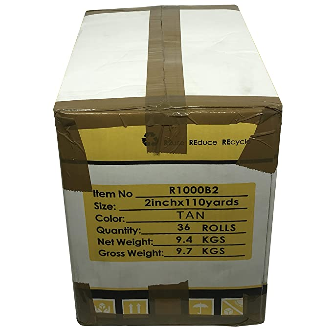 Amazon.com: Cinta de embalaje universal – 110 metros por ...