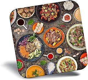 Destination Vinyl ltd Awesome Fridge Magnet - Tasty Thai Food Chef Travel 2658