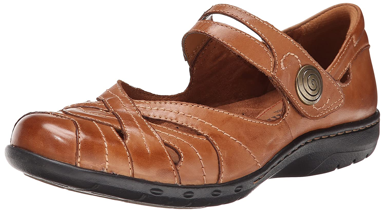 Cobb Hill Rockport Women's Parker CH Flat B00M1P21PO 6.5 B(M) US|Tan