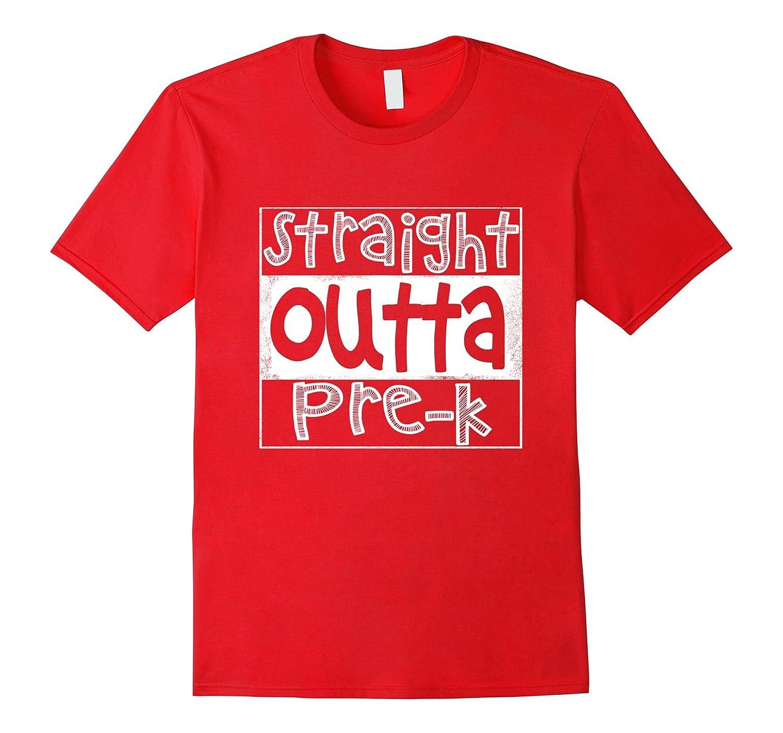 Straight Outta Pre-K  Preschool T-shirt-CD