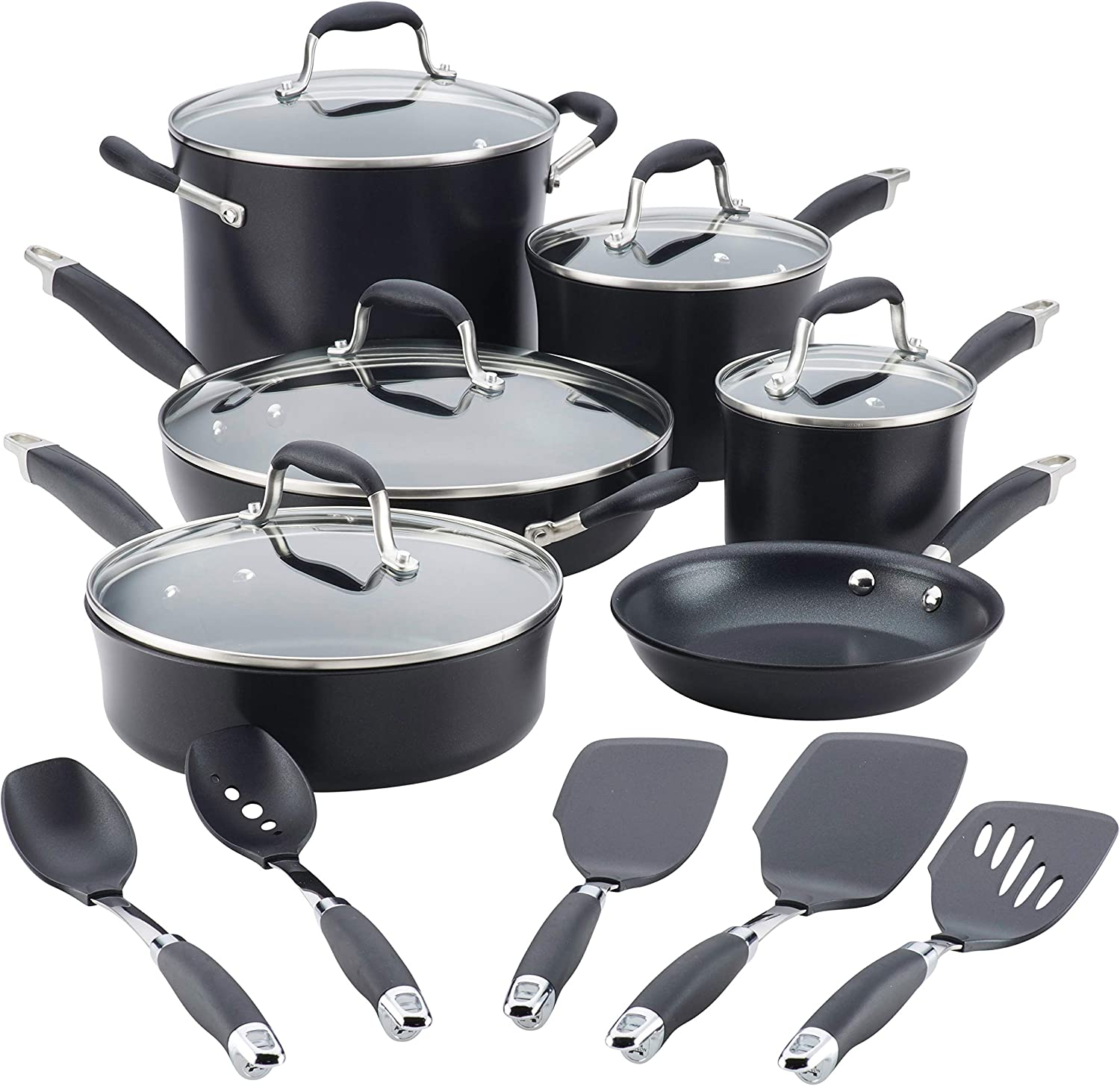 What is the best cookware for gas stoves - Anolon cookware review