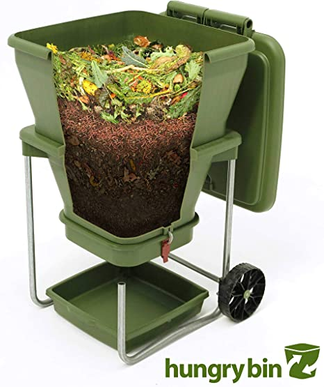 Amazon.com: Hungry Bin continuous-flow granja de gusanos ...