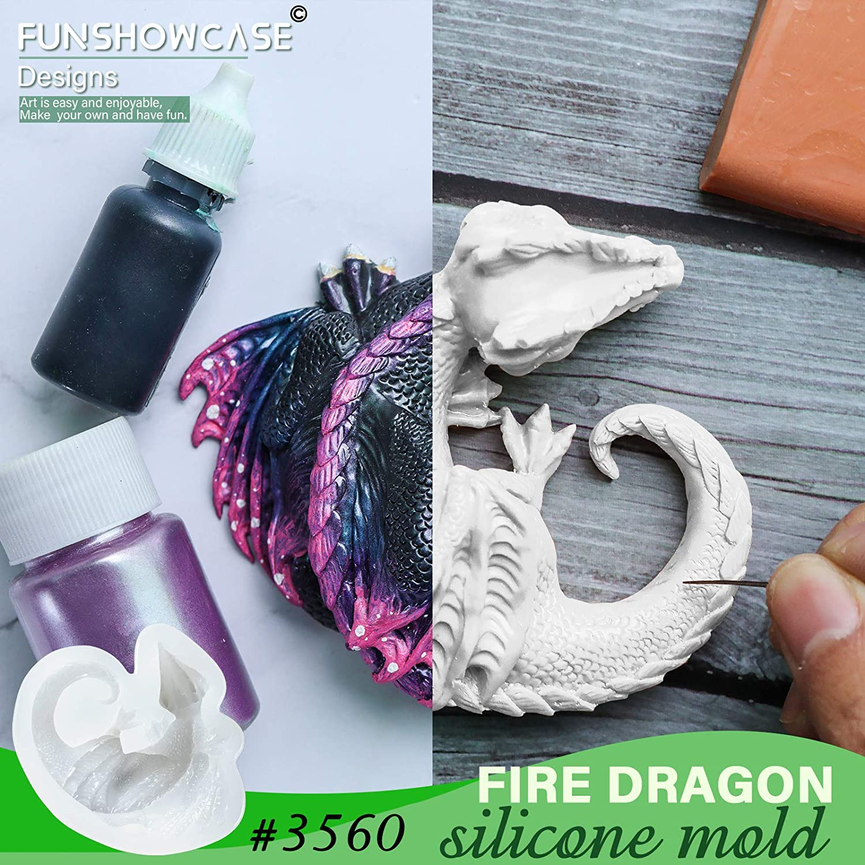 Dragon Candlestick Dragon Candle Holder Creature Figurine Dragon Art Dragon Statue Casting Polymer Resin Figure Dragon Mystic Birthday Gift