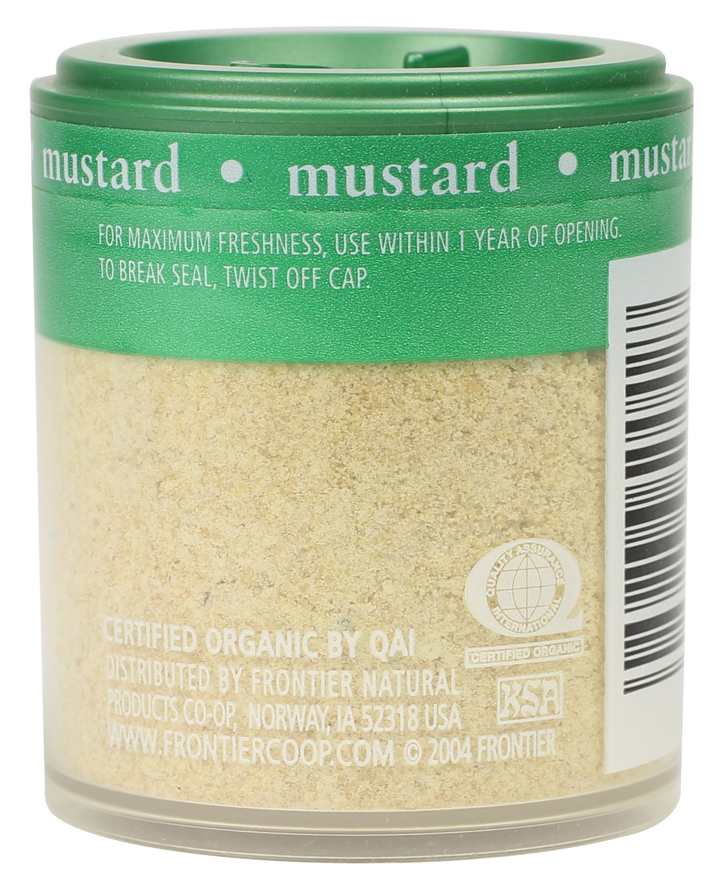 Simply Organic Mustard Seed Ground Certified Organic, .46-Ounce Containers (Pack of 6)