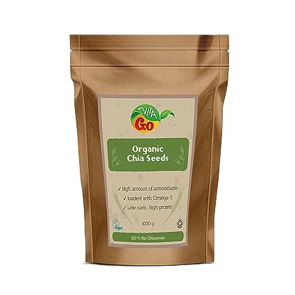 Vita de Go Organic Gia Seeds Black, Bio Gia Semillas 1 kg ...