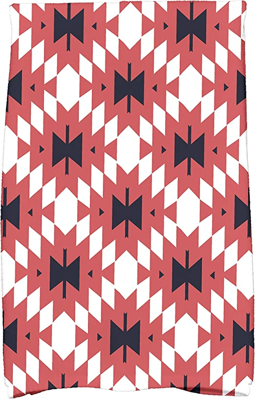 19 x 19 E by design Jodhpur Kilim Geometric Print Napkin Gold