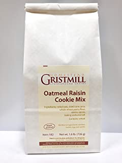 product image for Homestead Gristmill — Non-GMO, Chemical-Free, All-Natural Oatmeal Raisin Cookie Mix (2 Pack)