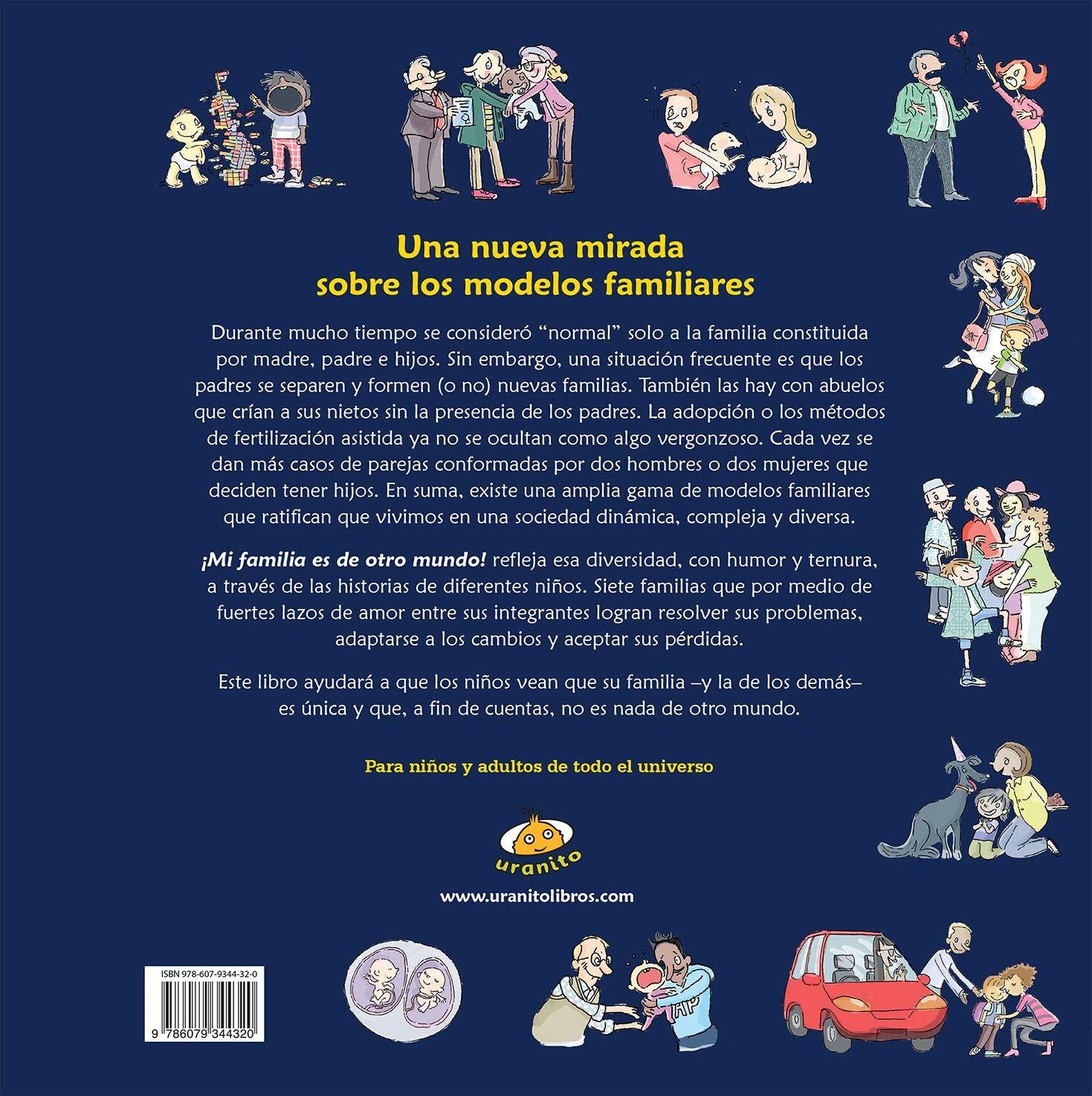 Mi Familia Es de Otro Mundo: Amazon.es: Blanco, Cecilia: Libros