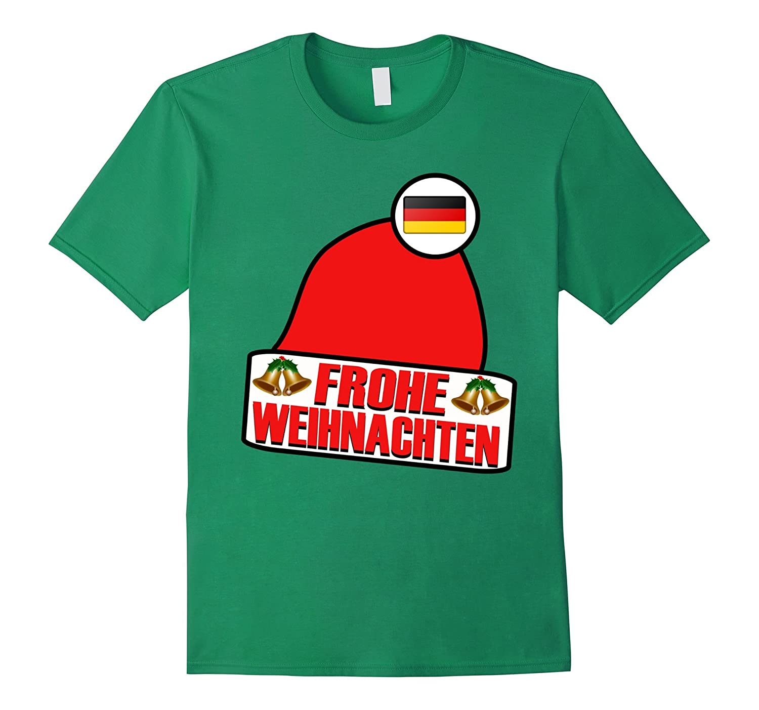 frohe weihnachten merry christmas germany t shirt art. Black Bedroom Furniture Sets. Home Design Ideas
