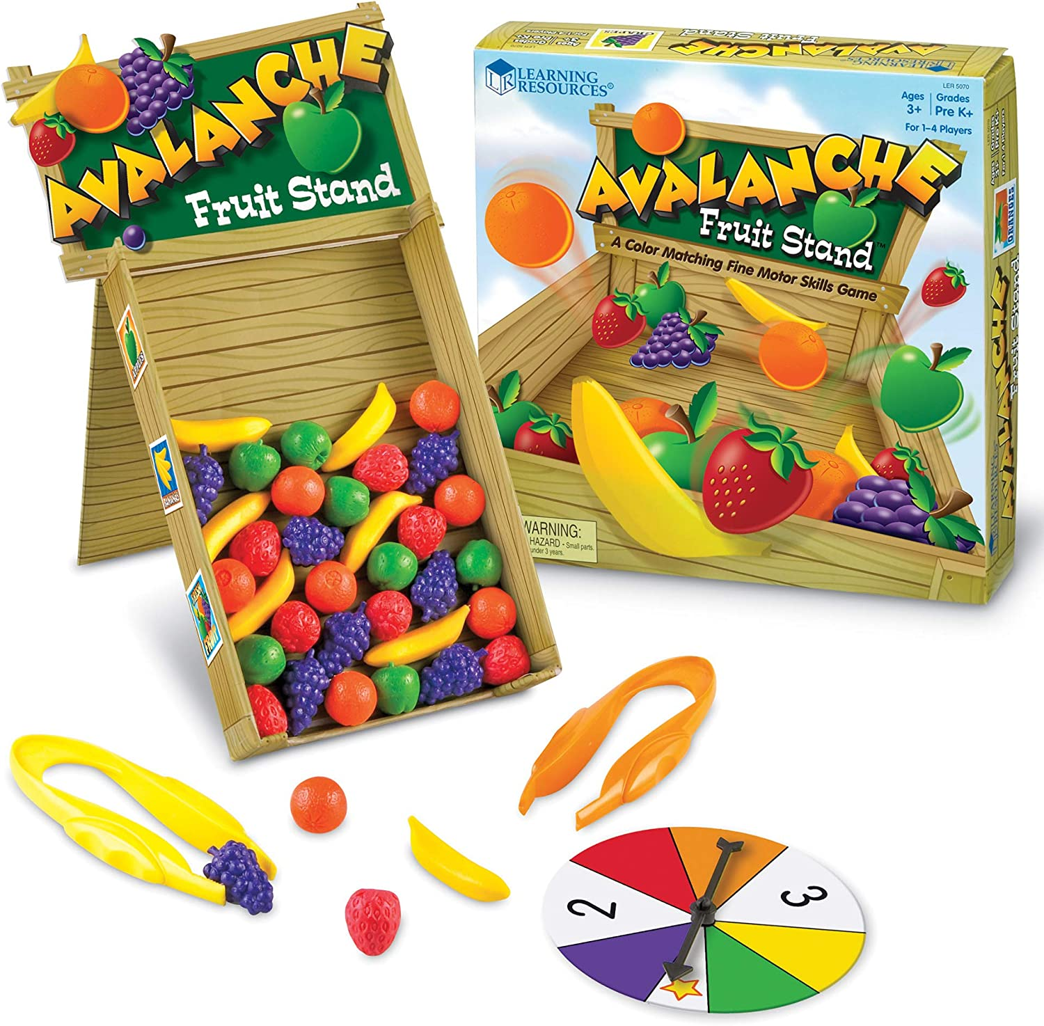 Learning Resources- Avalanche Fruit Stand, Multicolor (LER5070)