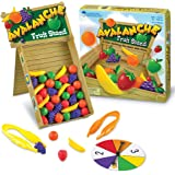 Learning Resources Avalanche Fruit Stand, Fine Motor/Grip Game, 42 Piece Set, Ages 3+