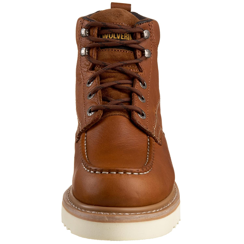 "Amazon.com | Wolverine Men's Moc-Toe 6"" Work Boot | Industrial ..."