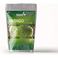 Shyam Organic Indigo Powder for Hair, Beard - Black (200gm)
