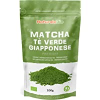 Té Verde Matcha Orgánico Japonés En Polvo [ Calidad Premium ] 100g. Té Matcha Biológico Japonés. Té Bio Grado Premium…