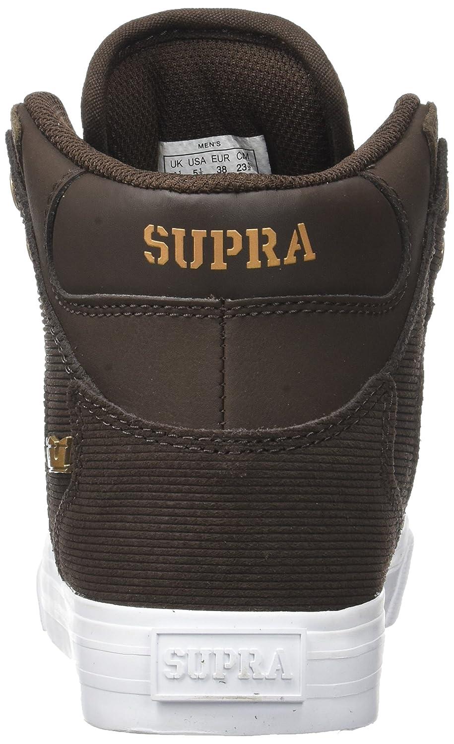 Supra Vaider LC Sneaker B06XYBJ5WJ 10 Women /+D409:D437  8.5 Men M US|Demitasse Suede/Copper/Copper/White