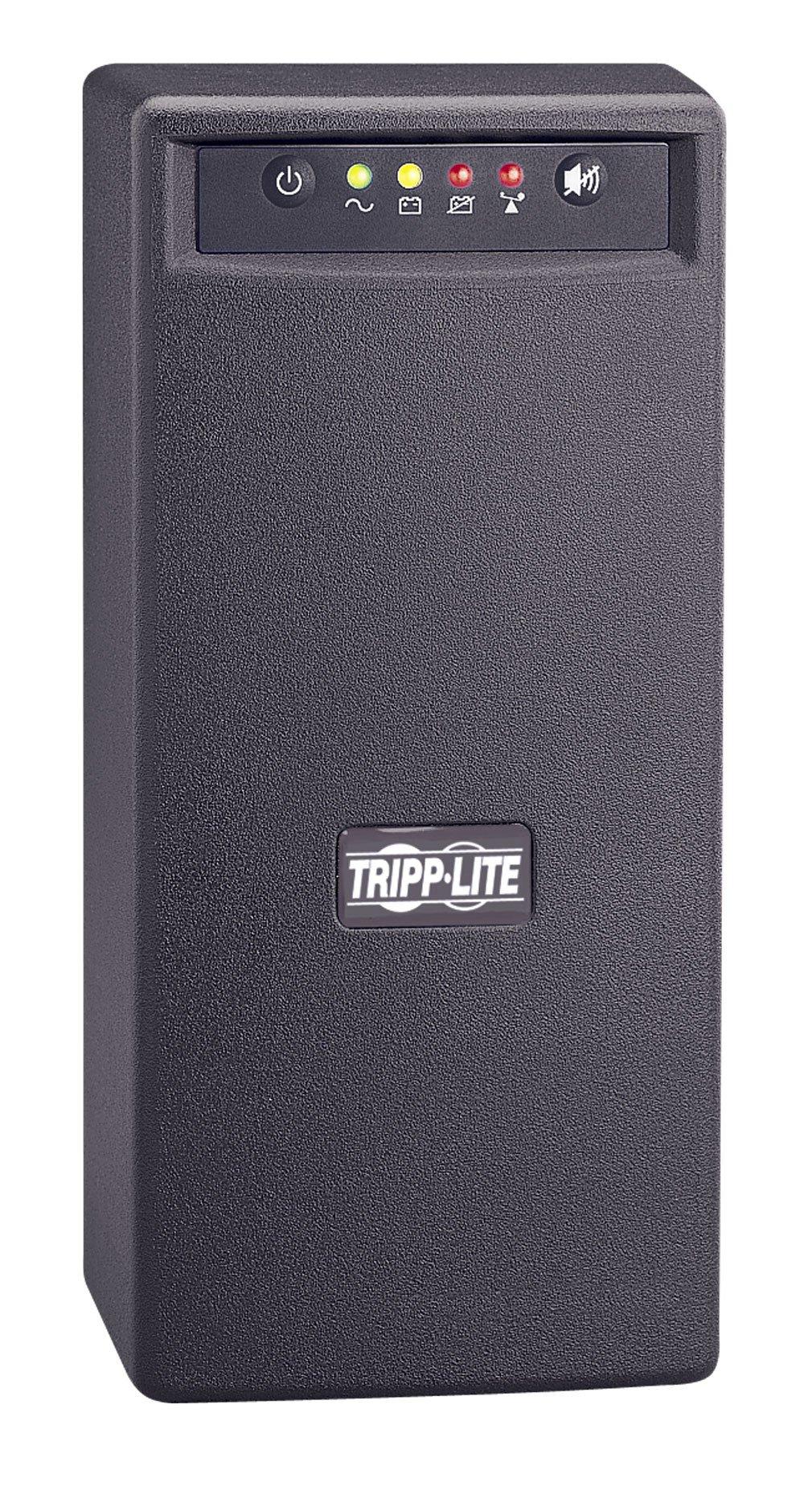 Tripp Lite 800VA UPS Backup, 475W Line-Interactive AVR, Tower, USB (OMNIVS800)