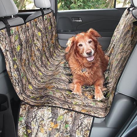MDesign Camo Pet Car Seat Protector Cover