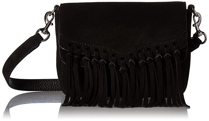 Amazon.com: Rebecca Minkoff Rapture Small Shoulder Bag, Black ...