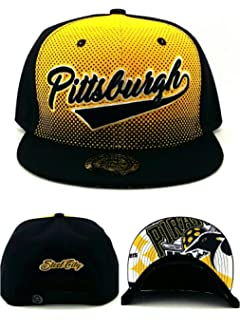 online store 39155 b6ddf King s Choice Pittsburgh New City Family Leader Steelers Colors Black Gold  Era Snapback Hat Cap