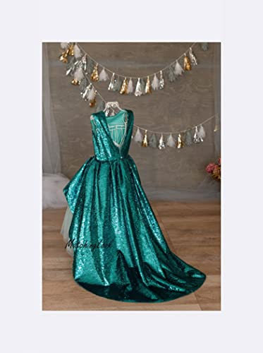 Amazon Com Little Mermaid Dress 1st Birthday Girl Outfit Elsa