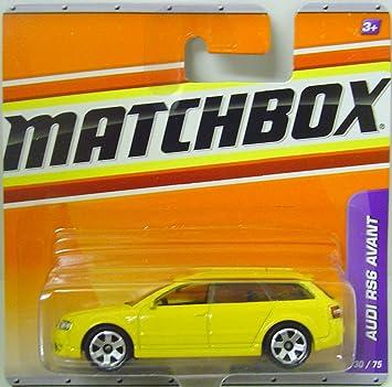 Matchbox Autos Audi Rs6 Avant In Gelb Amazon De Spielzeug
