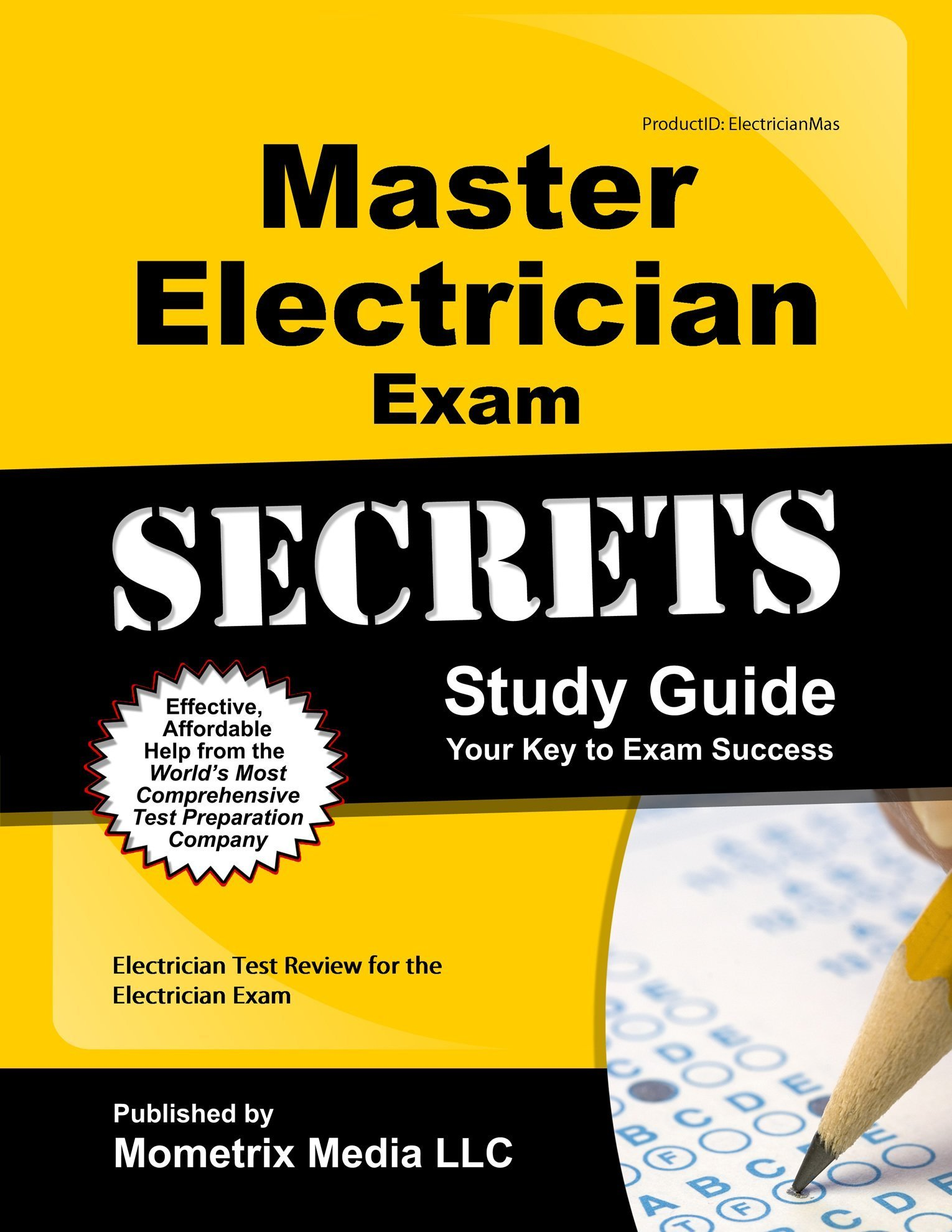 Master Electrician Exam Secrets Study Guide Electrician Test Review
