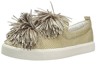 eaa034aebcb47 Sam Edelman Women s Emory Sneaker Gold 5.5 Medium US