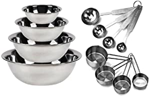 Measuring Cups and Spoon