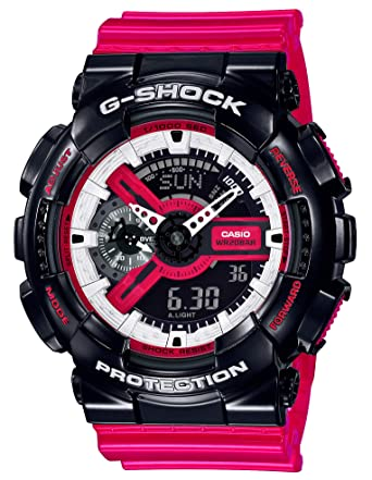 e1b55a0d8a Amazon | [カシオ]CASIO 腕時計 G-SHOCK ジーショック GA-110RB-1AJF ...