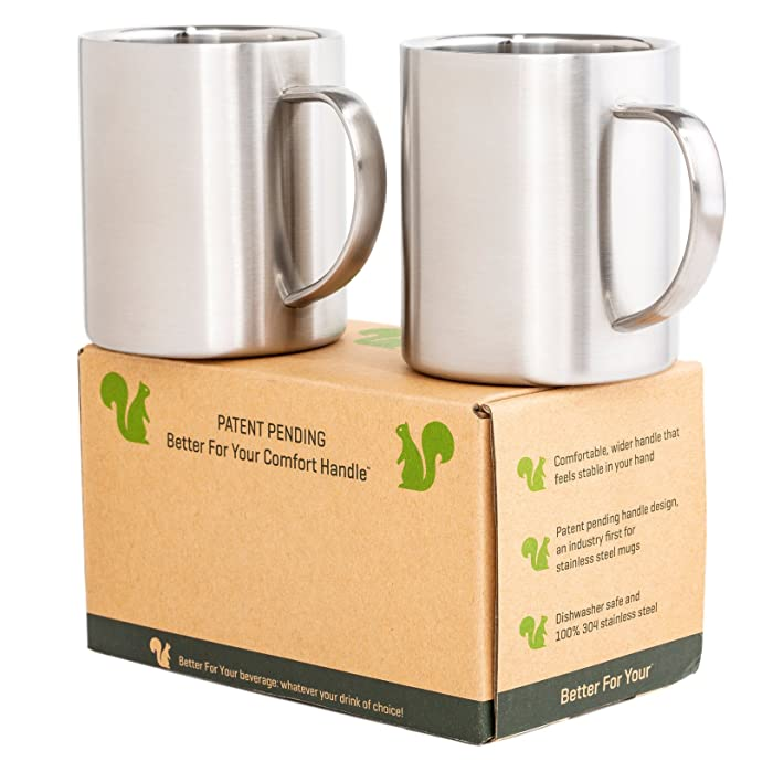 The Best Camping Mug Double Wall Food Grade Stainless Steal
