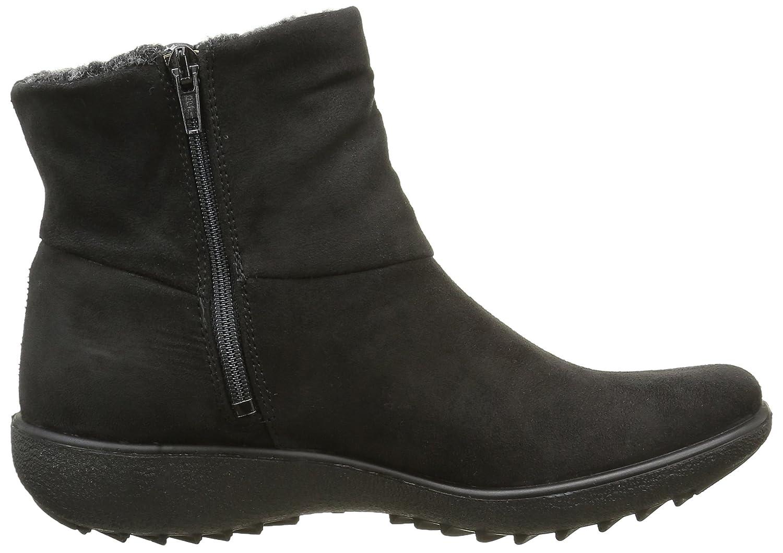 Amazon.com | Romika Womens Nadja 101 Zip Up Black Suede Boots 38 EU | Boots