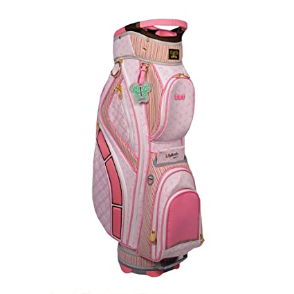 Amazon.com: Lilybeth Bolsa de golf, color rosa, diseño de conejo