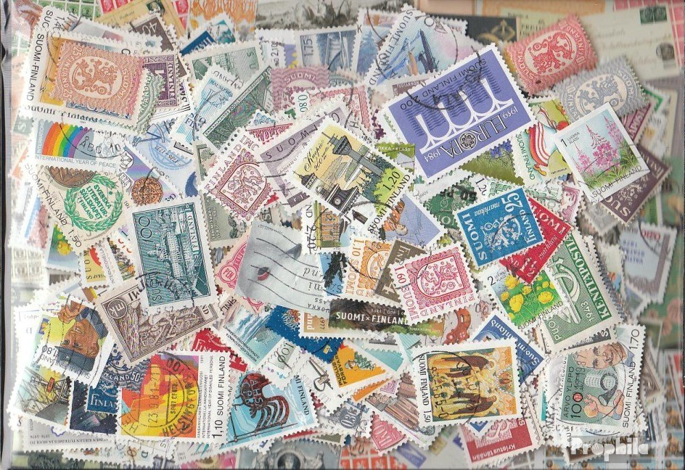 Prophila Collection Marken Finnland 1.400 Verschiedene Marken Collection (Briefmarken für Sammler) 6c566c