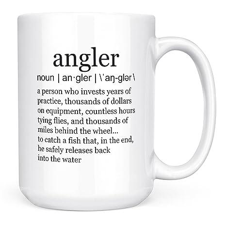 Amazon.com: Tazas de pesca para hombre divertido pesca ...