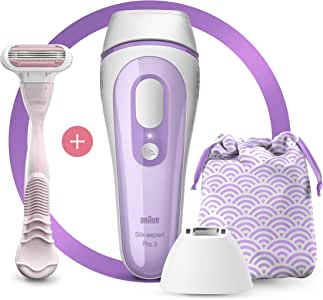 Braun Silk-Expert Pro 3 PL3132 Permanent Laser Hair Removal IPL for Body & Face