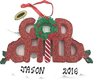 Amazon.com: Personalized Godchild Christmas Ornament God ...