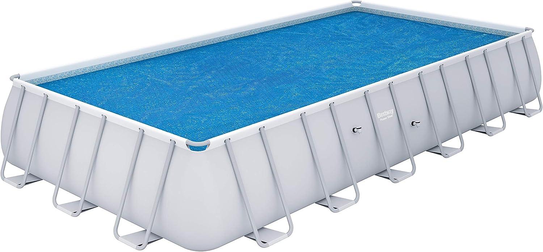 Amazon.com : Bestway 58228 Solar Swimming Pool Cover, 24 ...