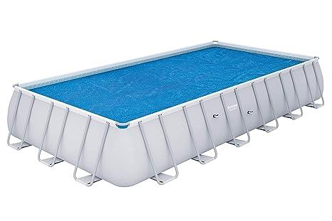official supplier new concept exclusive deals Bestway - Bâche solaire rectangulaire 703 x 366 cm pour piscine hors sol  Frame Pool 671 x 366 cm et 732 x 366 cm