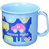 ハンナフラ(Hanna Hula) キッズ 耐熱プラコップ のりもの ランチシリーズ 日本製 電子レンジOK 食洗機OK 子供用かわいいお弁当グッズ