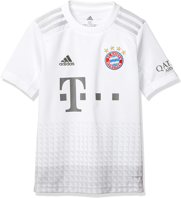 adidas 2019-2020 Bayern Munich Away Football Soccer T-Shirt Jersey (Kids)