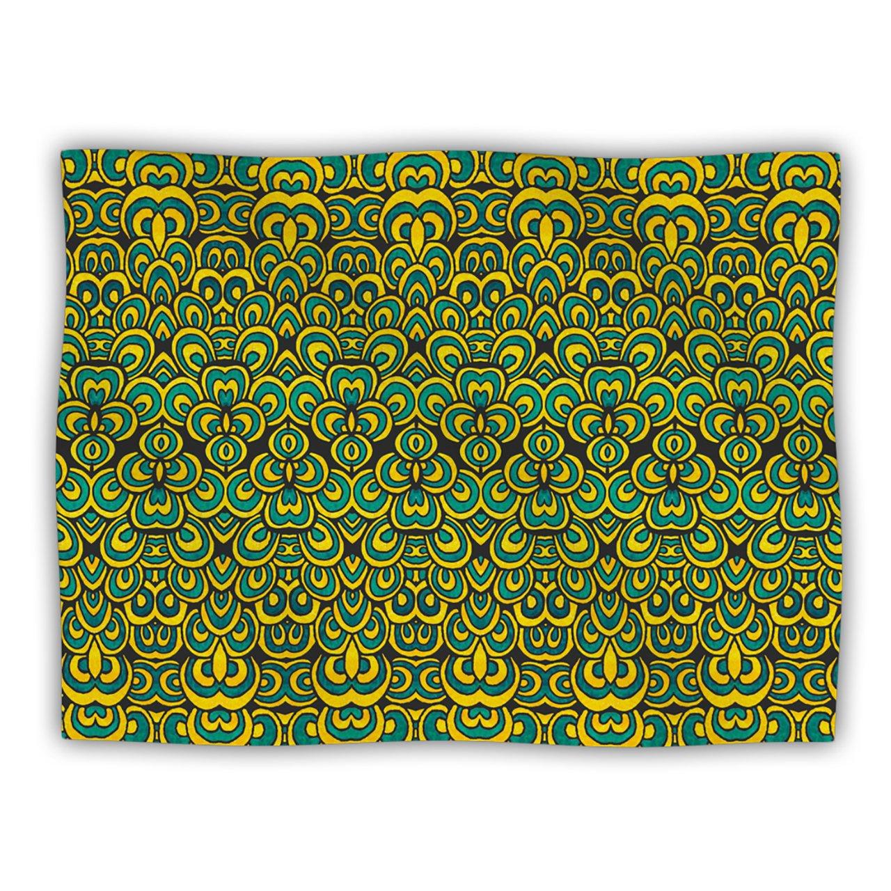 Kess InHouse Pom Graphic Design 'Animal Temple II' Dog Blanket, 40 by 30-Inch