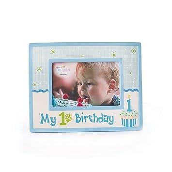 Amazon.com: NAT Y Jules de mi marco de Primer Cumpleaños ...