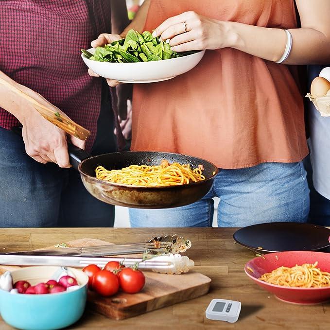 Compra KLAGENA Temporizador con cronómetro, Incluye imán y Soporte de fijación - Reloj de Cocina Digital/Timer/Temporizador electrónico/pomodoro en Amazon. ...