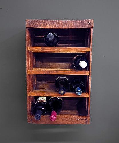 Porta botella de madera // vintage // DIY // upcycling // reciclaje