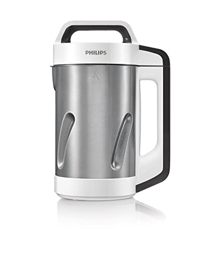 Philips HR2201/8 - Batidora para sopas (acero inoxidable, 990 W, 1