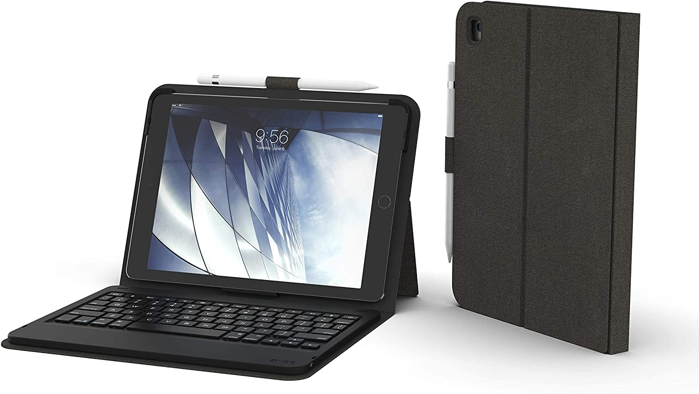 ZAGG Messenger Folio - Bluetooth Tablet Keyboard - Made for Apple iPad 9.7