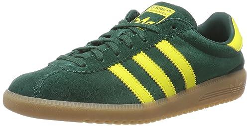 timeless design 6615c c0838 adidas Bermuda, Zapatillas de Gimnasia para Hombre, Verde Collegiate  GreenShock Yellow