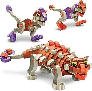 Bloco Toys Ankylosaur & Young Raptors