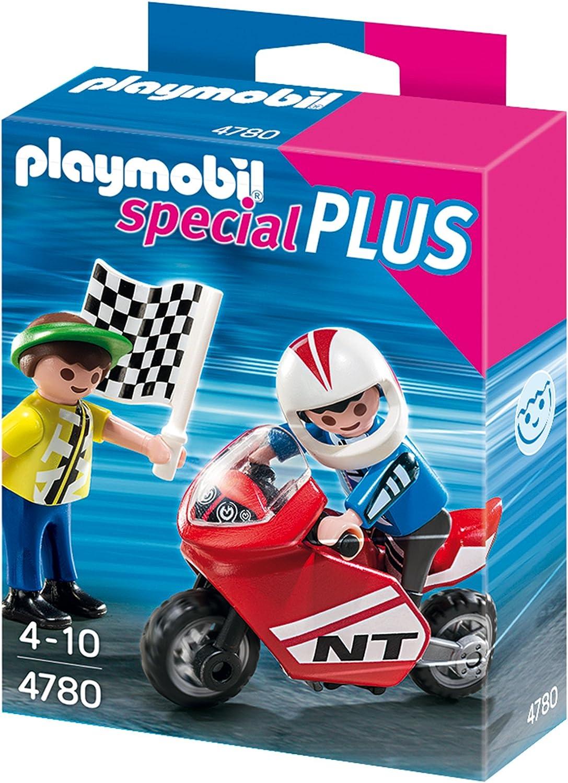Jungs mit Racingbike Playmobil 4780