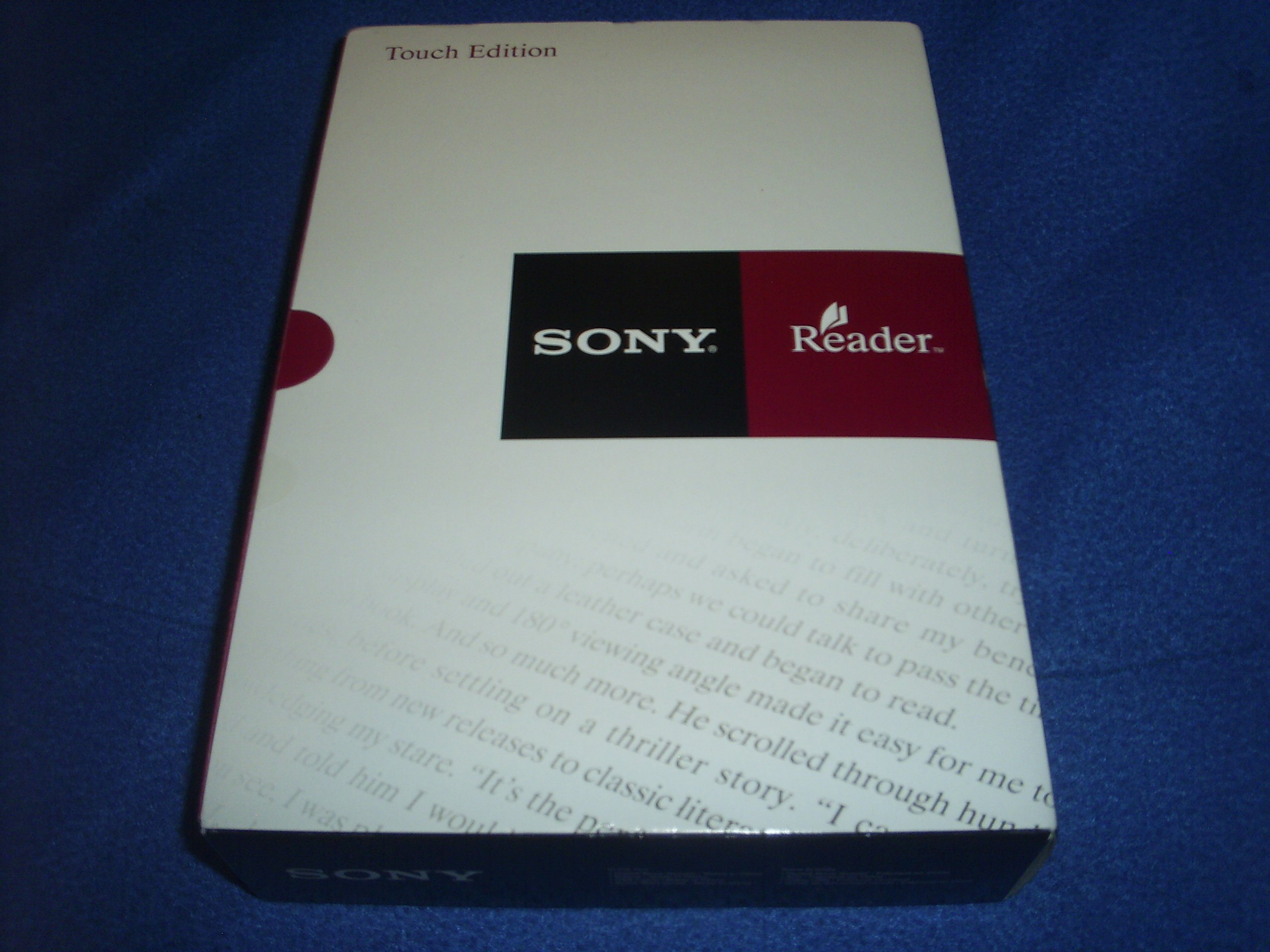 Sony PRS-600BC Touch Edition E-Book Reader by Sony